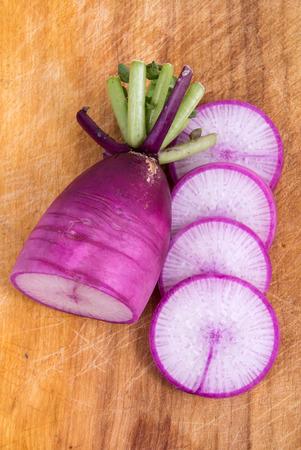 dikon: rábano daikon púrpura
