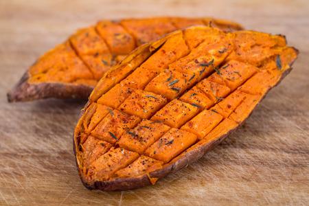 s��kartoffel: gebackene S��kartoffel S��kartoffel