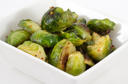 garlic roasted brussels sprouts