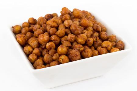 seasoned: Roasted seasoned chick peas