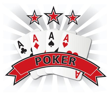 poker card: poker card design illustration