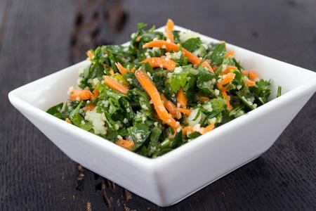tabbouleh: parsley tabbouleh salad