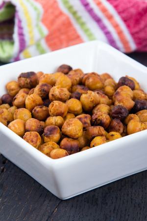 snack: Roasted Chick Peas Seasoned spicy snack