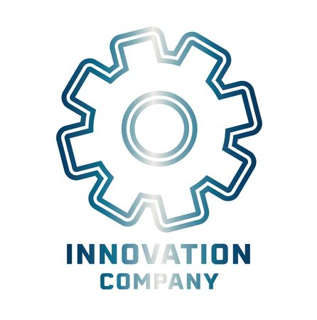 innovation technology company icon design vector