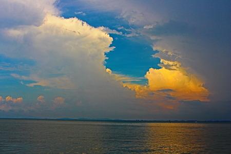 sun sky: Sun & sky Stock Photo