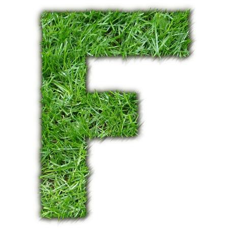 lettre: F grass