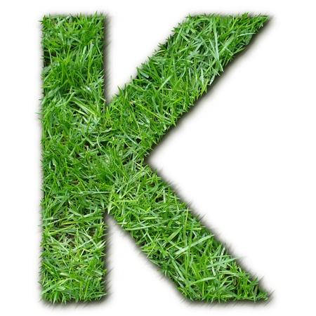 lettre: K herbe