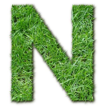 lettre: N herbe