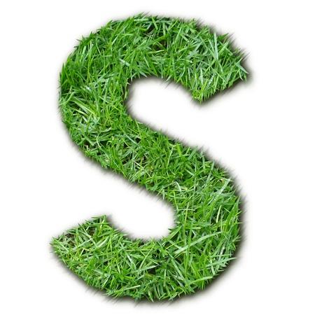 lettre: S herbe