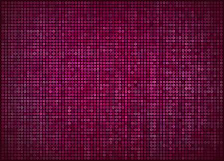 dotted background: vector illustration - pink abstract dotted background Illustration