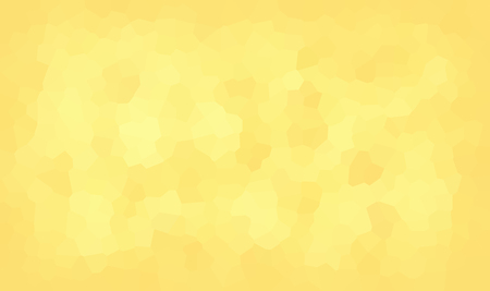 vector illustration - abstract mosaic polygonal yellow background Illustration