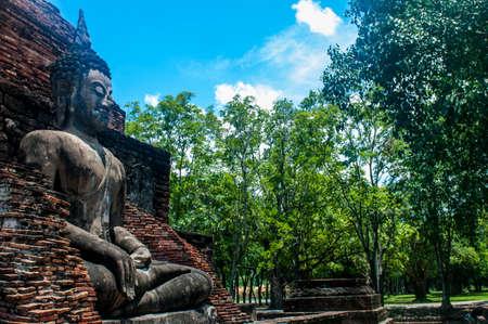 sukhothai: Beautiful Buddha Statue, Sukhothai