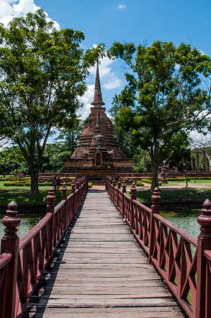 sukhothai: Temple in Sukhothai