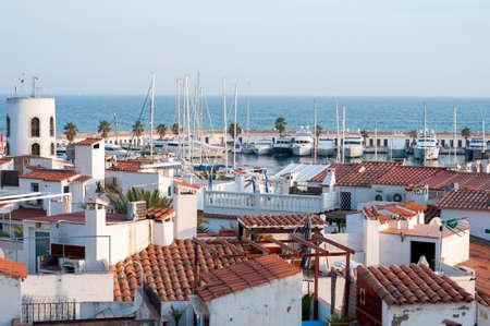 Port de Sitges - Aiguadol� Stock Photo