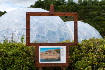 Bio Domes at Eden Project Cornwall, UK