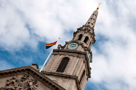 St Martin-in-the-fields, London Pride 2017