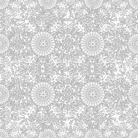 Seamless decorative  lace ornament photo