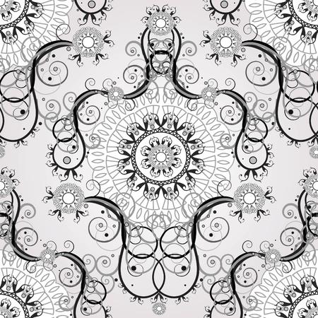 원활한 꽃 배경 스톡 콘텐츠 - 11655692