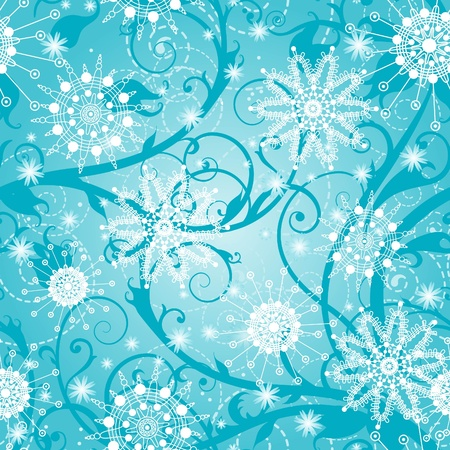 Beautiful christmas seamless background  Vector