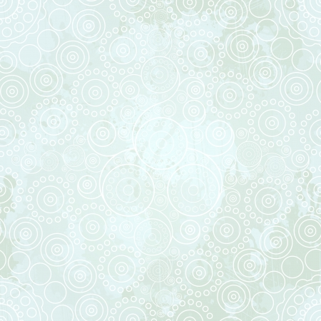 Abstract vintage winter seamless pattern. Vector, EPS 10 Vector
