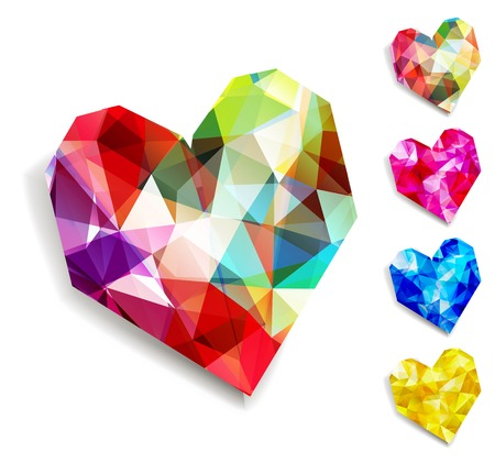 Vector heart. Valentines day. Illustration, EPS 10 Illustration