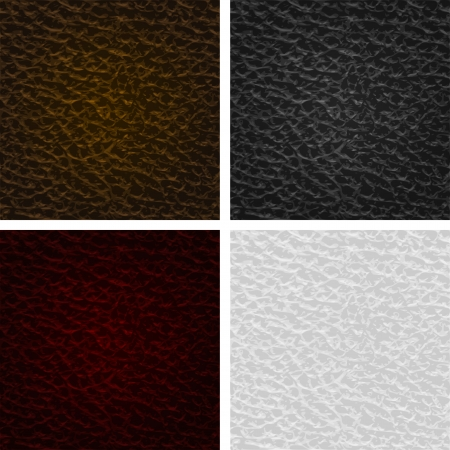 Vector leather seamless texture. Vector illustration Eps10 Vector