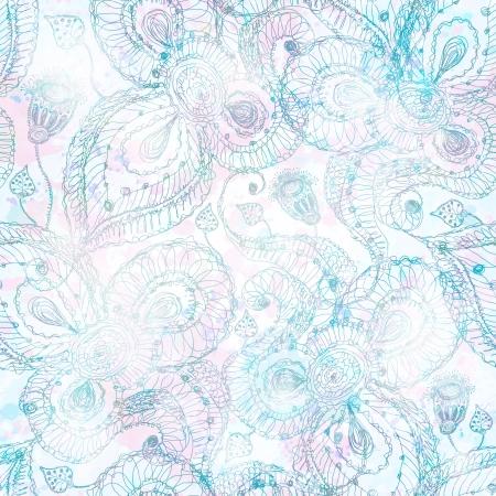 抽象的なシームレス パターン。ベクトル illustration10  イラスト・ベクター素材