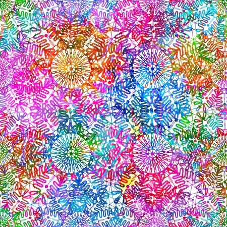 Abstract seamless pattern Vettoriali