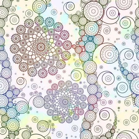 grungy background: Abstract seamless pattern.