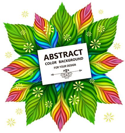 infirm: Floral background spring vector illustration. EPS 10.