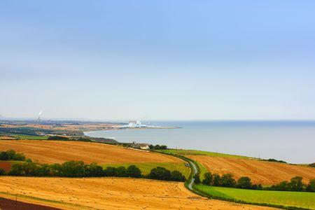 landsape: Scottish landsape panorama