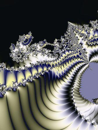 Beautiful, original and unique fractal art background photo