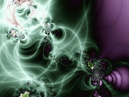 Beautiful abstract background, fractal art photo