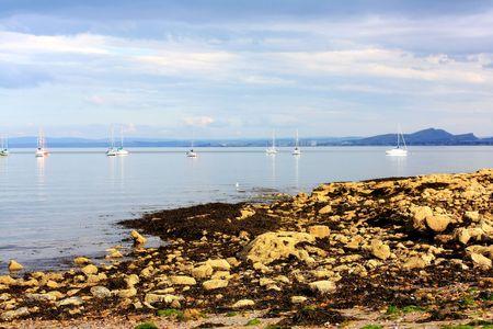 horison: Silver Sands, Aberdour, scotland