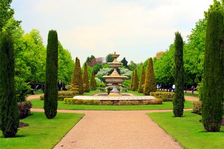 Queen Mary's Park in Springtime, London Stock Photo - 7176660
