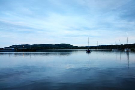 Lake District in the evening Stock Photo - 7534230