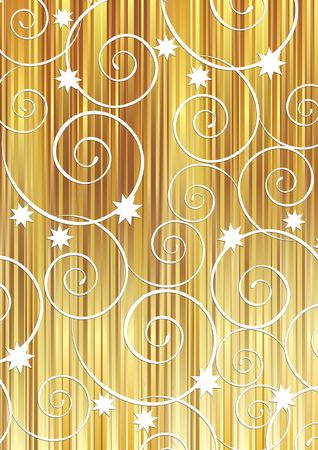 Christmas background with white swirls photo
