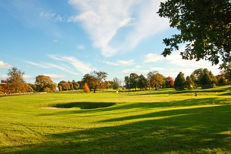 Golf course in the park, Stirling