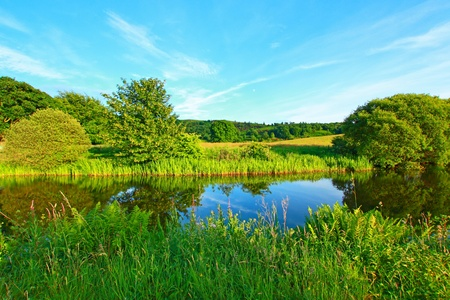 forth: Forth and Clyde Canal in Scotland