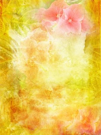 grungy background: Beautiful Spring background Stock Photo