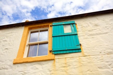 Old window with wooden shutters Stock Photo - 10455246