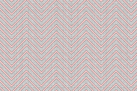 Trendy chevron patterned background pink and grey, textured photo