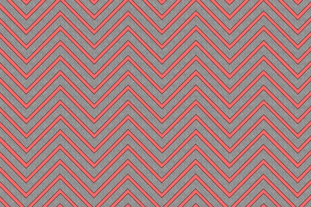 Trendy chevron patterned background, red and grey textured Stock Photo - 11451998