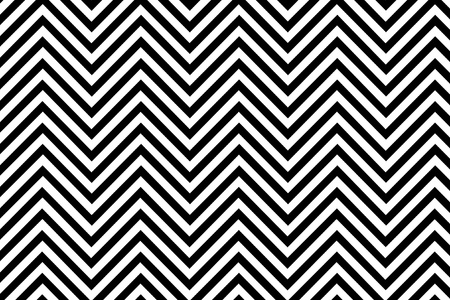 Trendy chevron patterned background black and white Stock Photo