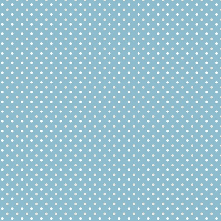 polka dots: Dots blue grey white seamless pattern