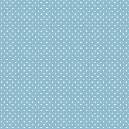 Dots blauw grijs wit naadloze patroon