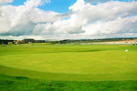 St Andrews, golf course, Scotland  photo