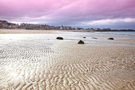 lothian: The beach at North Berwick, East Lothian Stock Photo