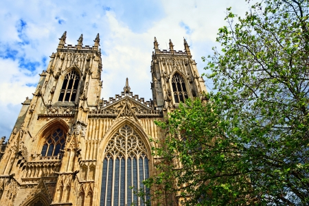 york minster: York Minster, gothic cathedral in York