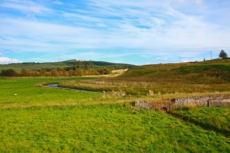 Carron Valley, Campsy Hills, Scotland, UK photo